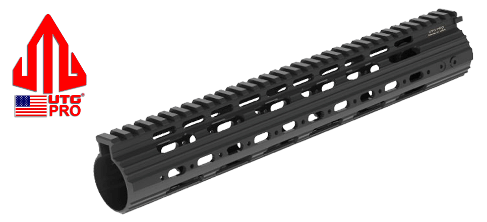 "13"" UTG PRO Super Slim Free Float Rail for DPMS Low Profile AR .308 Upper Receivers"