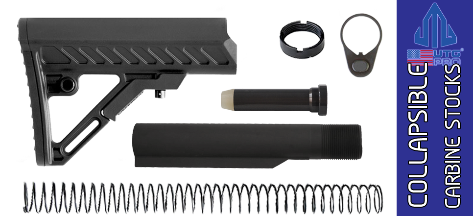 UTG PRO Model 4 S2 Mil-spec Adjustable AR Carbine Stock Kit