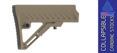 UTG PRO Model 4 S2 Mil-spec Adjustable AR Carbine Stock - FDE