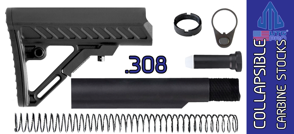 UTG PRO Model 4 S2 Mil-spec Adjustable AR .308 Carbine Stock Kit