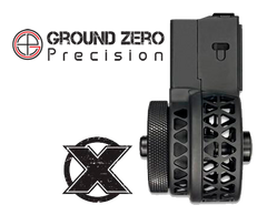 XProducts X-15 SKELETONIZED AR15 Drum Magazine - 50 Round - Black