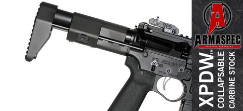 Armaspec Tactical Advantage XPDW™ AR15/10 Stock - Black