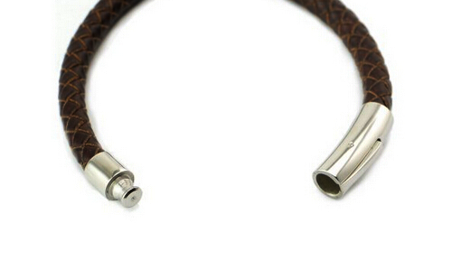The Gilbert Brown Leather Bracelet