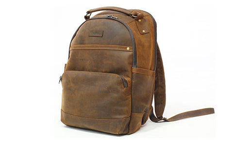 The Magellan Leather Backpack