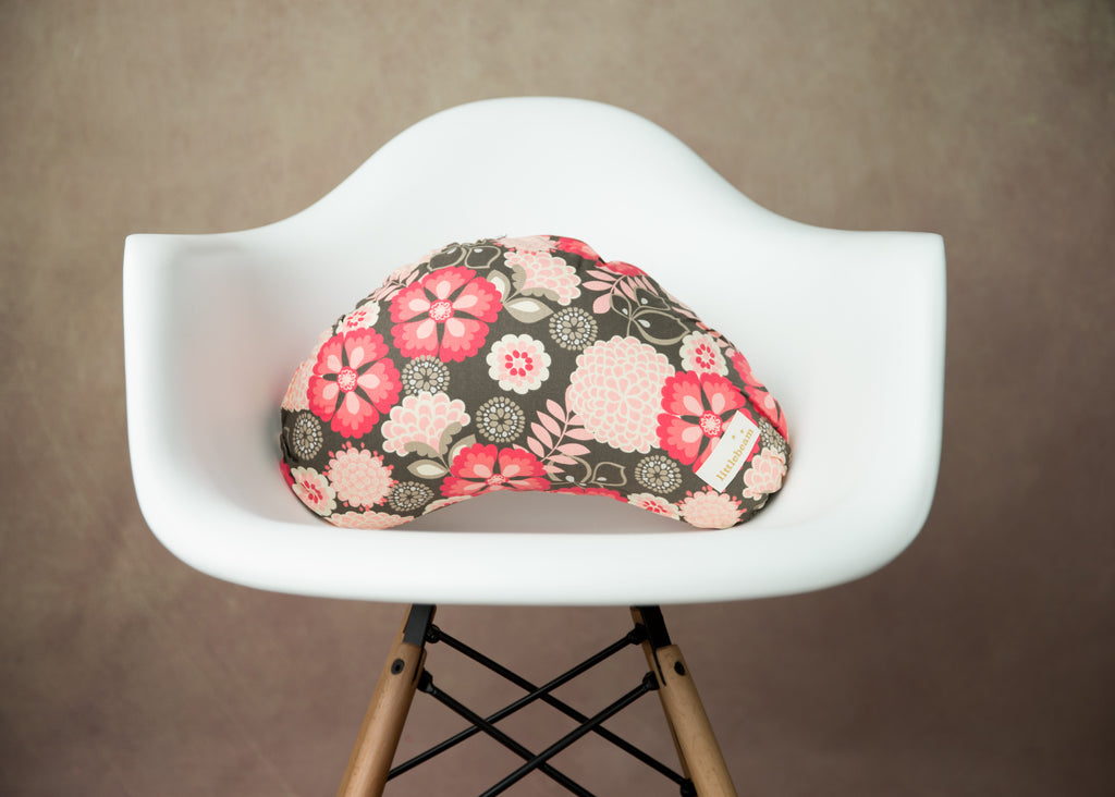 Red Flowers - littlebeam Nursing Pillow