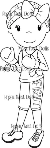Fight Digi Stamp