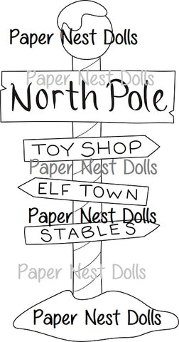 North Pole Collection ( includes 7 images ! )