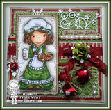 Mrs Claus Digi Stamp
