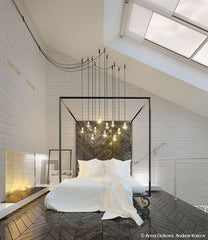 bed chandelier pendant lights