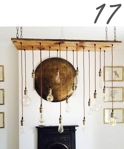 wood chandelier - design your own
