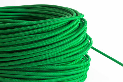 Green Fabric Cord by the Foot
