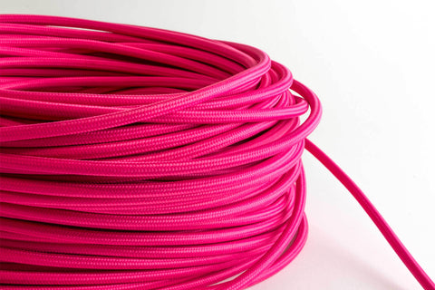 Pink Fabric Cord by the Foot