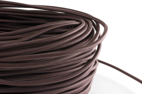 Taupe Fabric Cord by the Foot