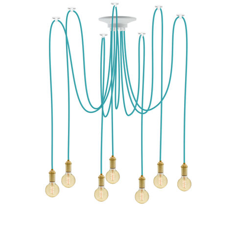Swag - Turquoise and Brass
