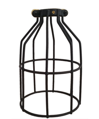 Black Round Light Bulb Cage