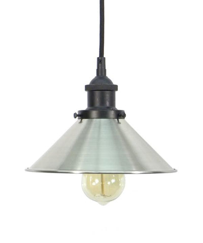 Black Nickel Shade Pendant Light