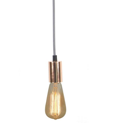 Grey Copper Pendant Light