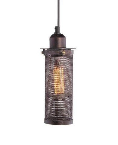 Metal Net Industrial Cage Pendant Light