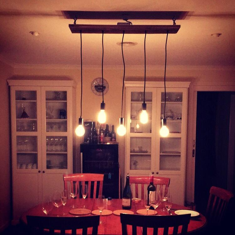 Rustic Dining Table Light Fixtures