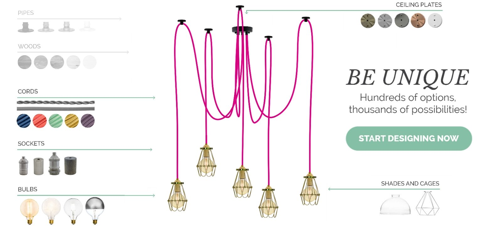 Design Your Own Light Fixture