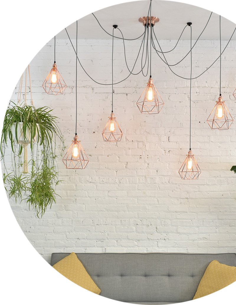 Design your own custom pendant lights and fixtures hangout lighting design your own aloadofball Choice Image