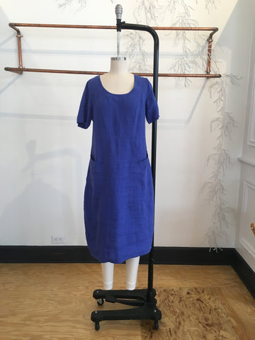 French Linen Dress