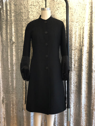 Céline Black Coat