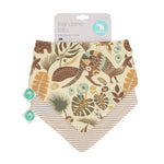 Baby Bib - Reversible Bandana Aussie Animals 2-pack