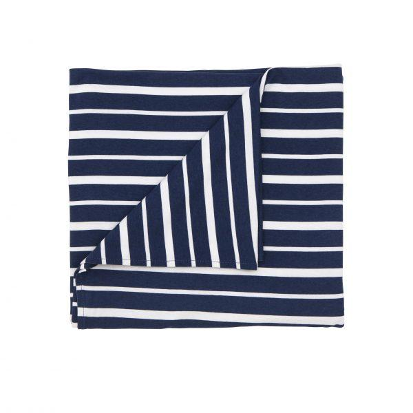 Baby Rayon Blanket - Blue Stripe
