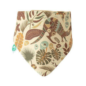 Load image into Gallery viewer, Baby Bib - Reversible Bandana Aussie Animals 2-pack