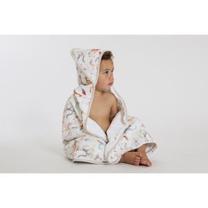 Load image into Gallery viewer, Hooded towel - Animal Safari - Baby Luno