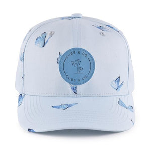 Snapback Hat - Butterfly Blue (Kids)