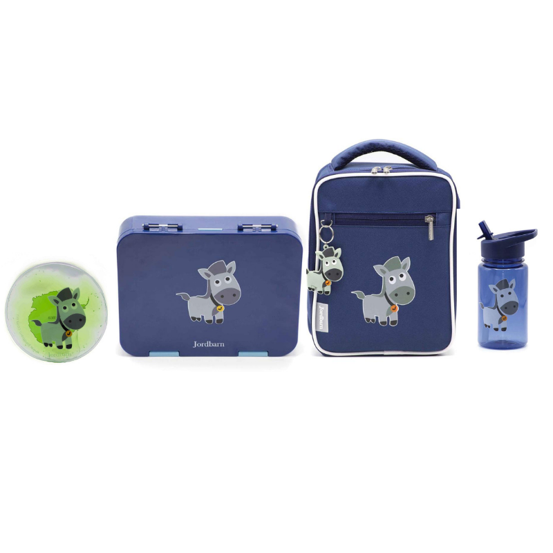 Jordbarn Lunch Value Pack - Blue - Baby Luno