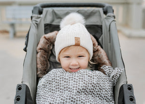 Load image into Gallery viewer, baby luno Nordic Footmuff - Raindrops THIN