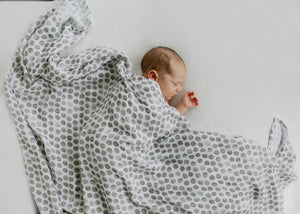 Essential Bamboo Blanket - Raindrops Silky Soft (PRE-ORDER)