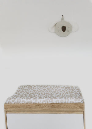 Essential Cotton Blanket - Leopard