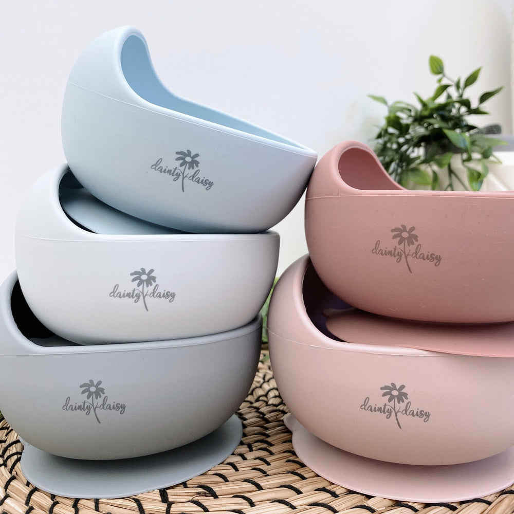 Stickie Bowl & Spoon Set - Dusty Rose