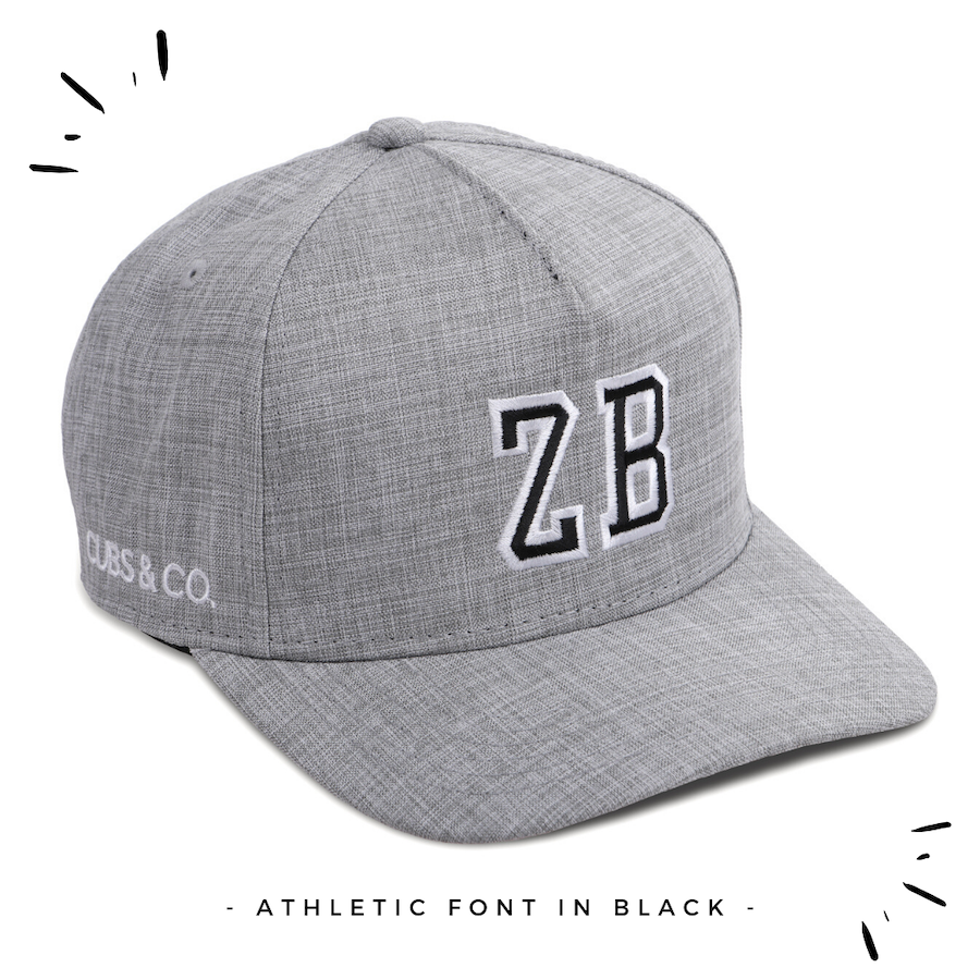 Load image into Gallery viewer, Snapback Hat - PERSONALISED (Kids-Adults) Grey