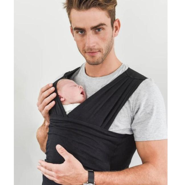 Baby Carrier - BabyDink Black ORGANIC - Baby Luno