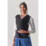 Baby Carrier - BabyDink Black ORGANIC 2.0