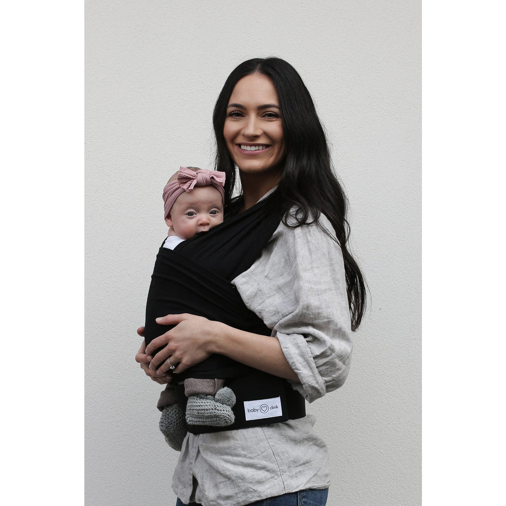 Baby Carrier - BabyDink ORGANIC Black