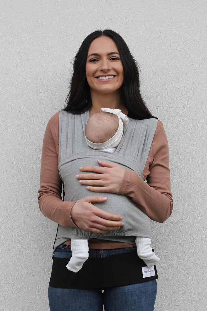 Baby Carrier - BabyDink ORGANIC Grey