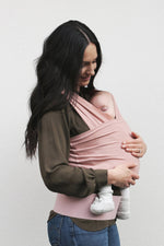 Baby Carrier - BabyDink ORGANIC Rose