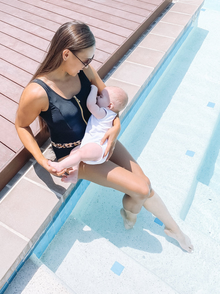Breastfeeding Swimsuit - Mummactiv Mums Gone Wild - Baby Luno