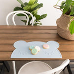 Placemat - Bear Powder Blue - Baby Luno