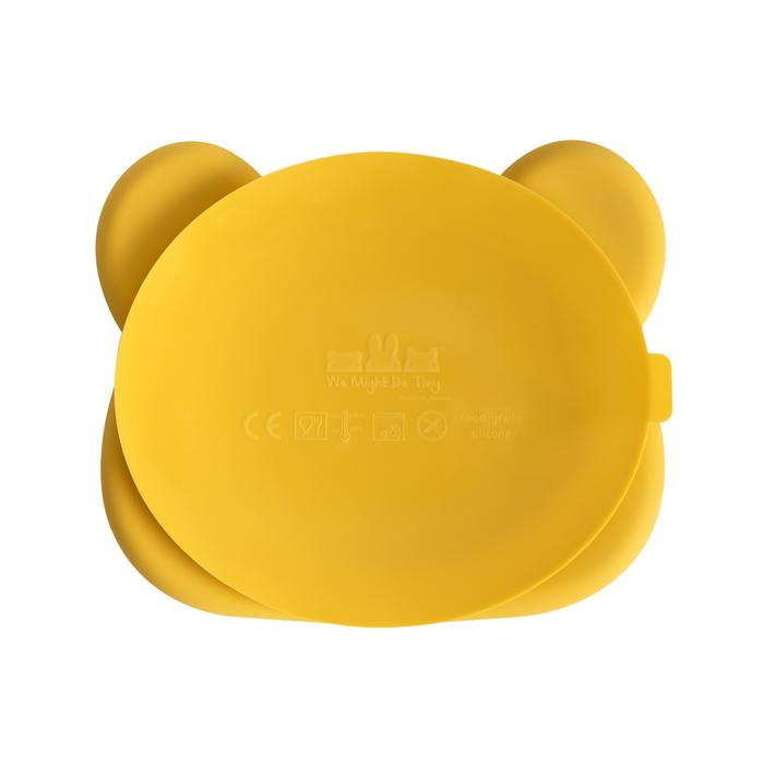 Load image into Gallery viewer, Stickie Plate - Bear Yellow