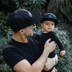Snapback Hat - Signature Black (Kids-Adults)