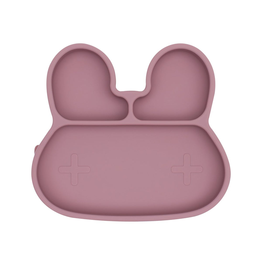 Stickie Plate - Bunny Dusty Rose