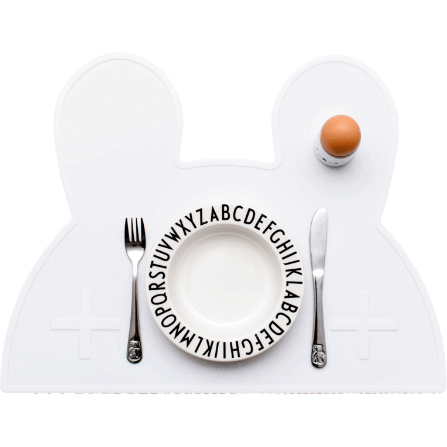Placemat - Bunny Snow White - Baby Luno