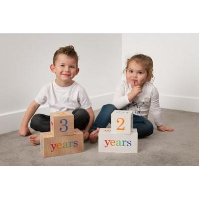 Milestone Blocks - Multi-coloured - Baby Luno